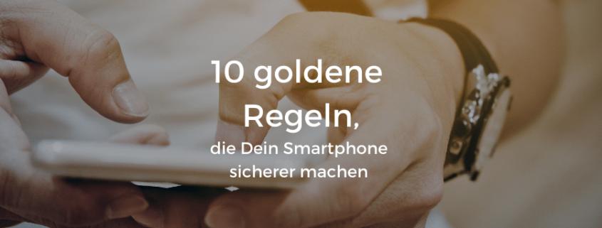 Smartphone-Sicherheit