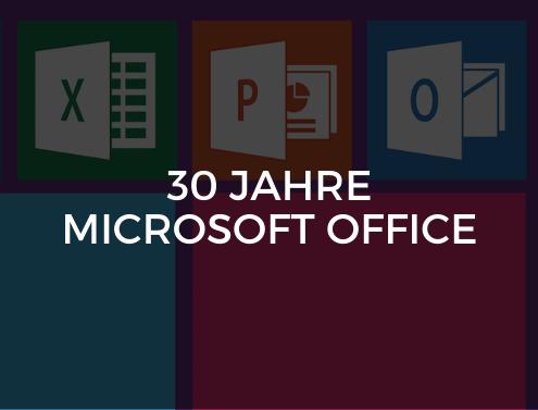 30 Jahre Microsoft