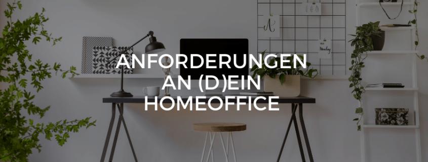 (Datenschutz-)Rechtliche Anforderungen an (D)ein Homeoffice