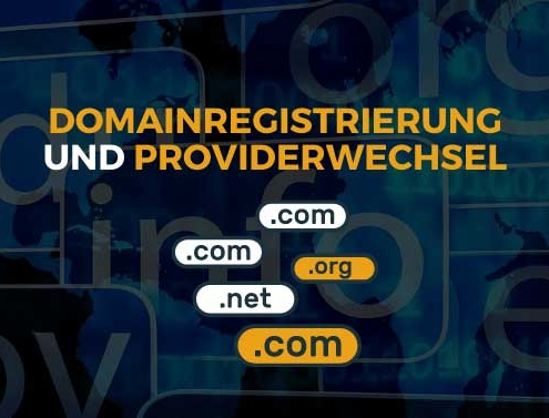 Domainregistrierung