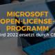 Microsoft Open License Programm wird ersetzt