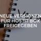 Neue Versionen für hostIT box freigegeben
