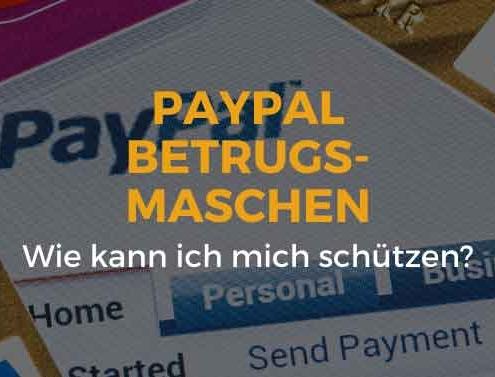PayPal Betrugsmaschen