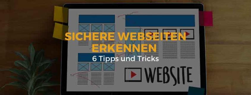 Sichere Webseite