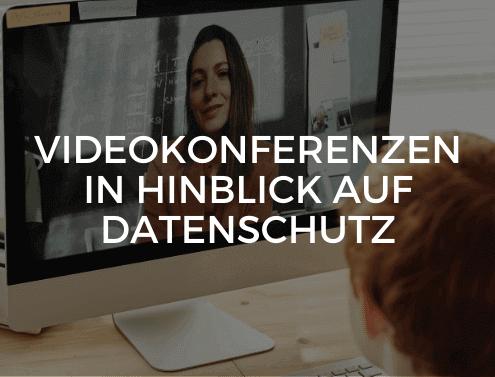 Videokonferenz DSGVO