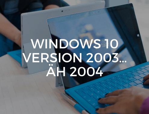 Windows 10 Version